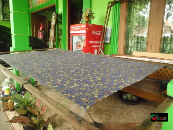 proses pembuatan batik blora