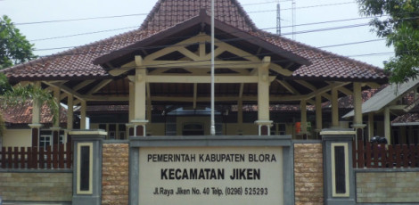 Kantor kecamatan Jiken Kabupaten Blora
