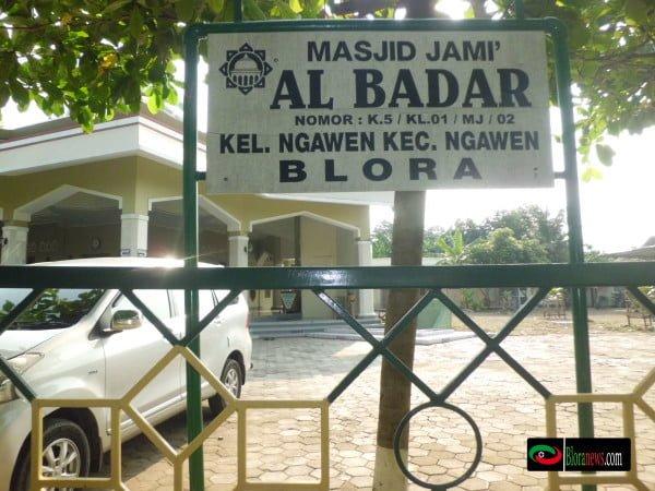 Masjid jami albadar Ngawen