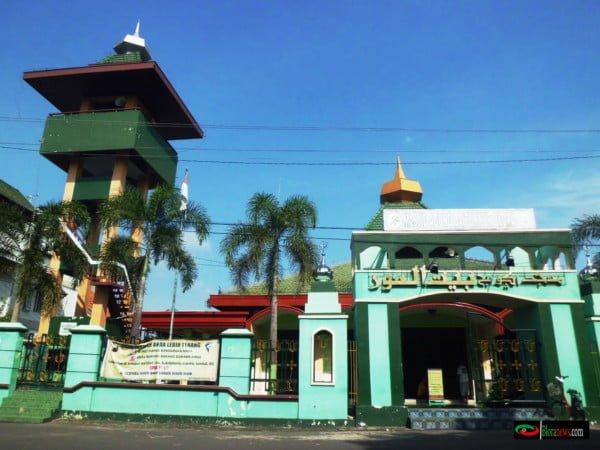 menara masjid baitunnur blora