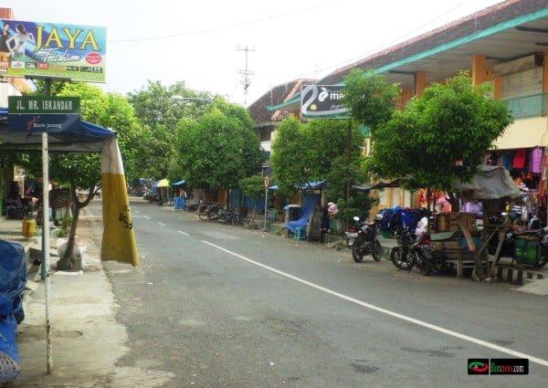 Jl. Mr. Iskandar kota Blora
