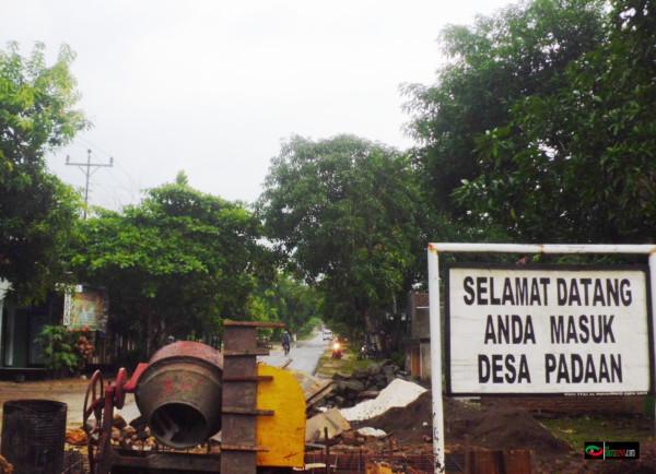 Insfrastruktur desa padaan