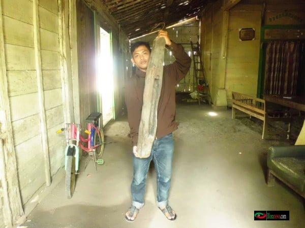 kenthongan peninggalan Pangeran Langlang Yudho