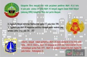 MUKTI ALI DARI CEPU (1923 – 2004):SANG TOKOH TIGA KOTA   (BAGIAN 3)