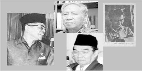 Mukti Ali, Djohan Effendi, Dawam Rahardjo dan Ahmad Wahib merupakan para pendiri Limited Group