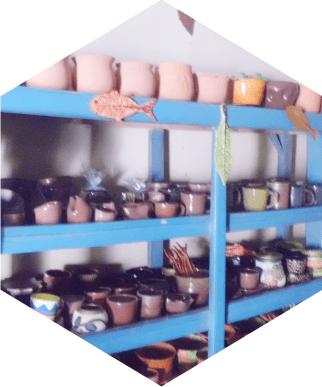 2. Kerajinan Keramik di desa Balong Kecamatan Jepon