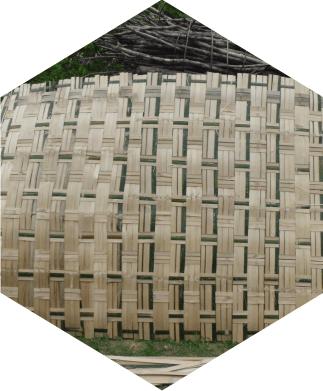 1. Kerajinan kepang bambu di desa Gotputhuk Kecamatan Ngawen