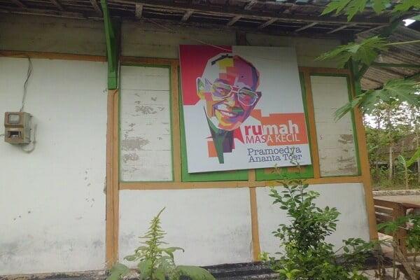 Rumah Pramoedya ananta toer