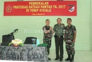STAF AHLI PANGLIMA TNI BEKALI PRAJURIT 410 ALUGORO