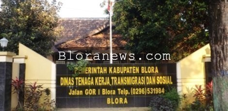 Kantor Dinas Tenaga Kerja dan Transmigrasi Blora