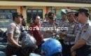 Operasi penegakan ketertiban anggota polres Blora
