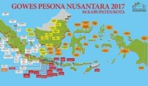 BLORA BENTUK PANITIA GOWES PESONA NUSANTARA 2017