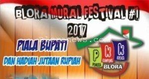 AYO, TUNJUKKAN KARYAMU DI BLORA MURAL FESTIVAL #1 2017 !!