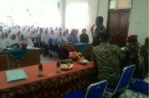 KODIM 0721 BLORA GELAR SOSIALISASI PENERIMAAN ANGGOTA TNI