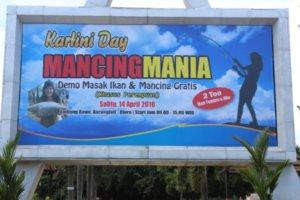 MANCING MANIA MASSAL KHUSUS PEREMPUAN BAKAL DIGELAR
