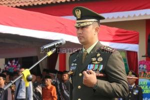 SINERGI, DANDIM RYZADLY  PIMPIN UPACARA HUT BHAYANGKARA KE- 72