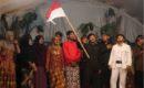 Pagelaran teater Geger Samin sukses digelar dalam Sedekah Bumi Desa Palon Kecamatan Jepon, Jumat (27/07).