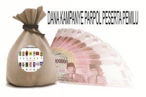 KPU BLORA UMUMKAN DANA KAMPANYE PARPOL  PESERTA PEMILU 2019