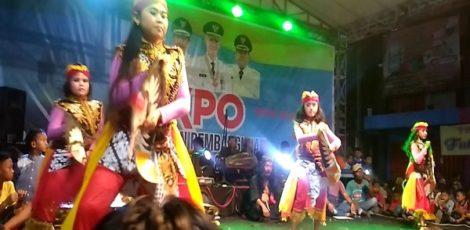 Barongan dan Cokekan Meriahkan Expo HPS 2018