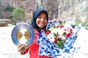 INDONESIA BORONG MEDALI, PEMANJAT BLORA LAGI-LAGI GONDOL PERAK DI TIONGKOK