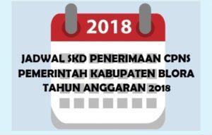 INI JADWAL SKD UNTUK CPNS PEMKAB BLORA 2018