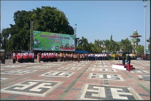 Pelantikan Pengurus MWCNU Todanan sekaligus peringatan Hari Santri 2018