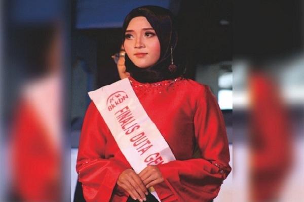 Tufy Supriyanti, juara III Duta Genre BKKBN DIY 2018