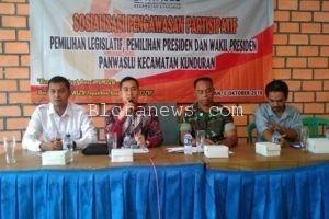 PANWASLU KUNDURAN AJAK OKP DAN PRAMUKA JADI PENGAWAS PARTISIPATIF