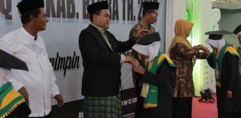 Wabup Blora Arief Rohman mewisuda 2020 Santri TPQ