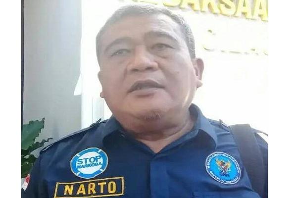 Kabid Pemberantasan BNN Provinsi Jateng, Suprinarto