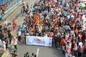 """FESTIVAL BUDAYA """"BLORA ENGKEK"""" DI CFD SUDIRMAN JAKARTA"""