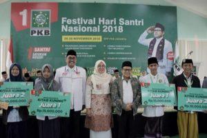 DELEGASI PKB BLORA JUARAI LOMBA BACA KITAB KUNING FESTIVAL HSN 2018