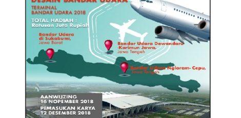 Pengumuman Sayembara Desain Bandara Ngloram Cepu