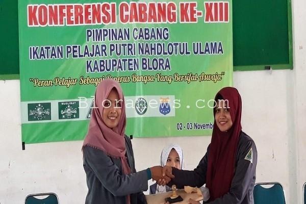 Konferensi IPPNU Kabupaten Blora, di Gedung Serbaguna NU Kelurahan Mlangsen Kecamatan Blora Kota.