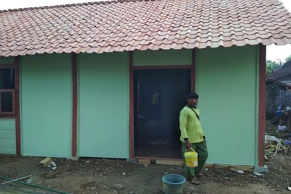 Rumah Mbah Tasmi pasca direhab