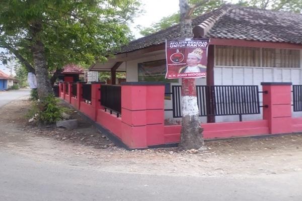 """Poster """"Jokowi Raja"""" di Blora (foto: Bawaslu Blora)"""