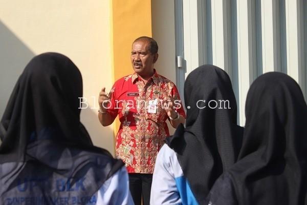 Kepala Dinas Perindustrian dan Tenaga Kerja (Dinperinaker) Blora, Suryanto