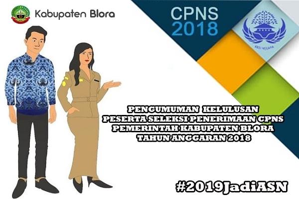 Pengumuman kelulusan CPNS BLORA