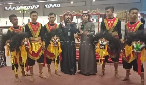 Delegasi kesenian SMK Muda tampil di gelombang pertama Festival Janadriyah 33.