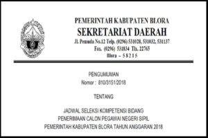 CEK NAMA ANDA, INI DAFTAR 824 CPNS BLORA 2018 YANG LOLOS IKUTI SKB