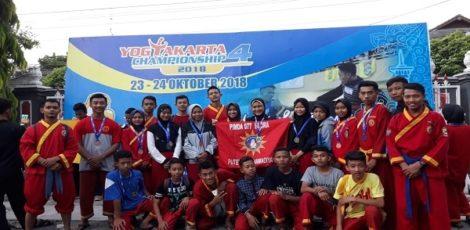 Pesilat Tapak Suci Blora membawa pulang puluhan medali dalam Kejurnas Pencak Silat Yogyakarta Championship 4 beberapa waktu lalu