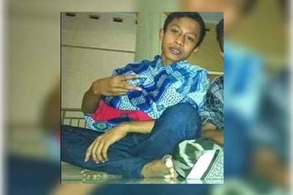 Ahmad Yusuf Risqi (13) remaja Desa Tengger RT 03 RW 02 Kecamatan Japah Kabupaten Blora
