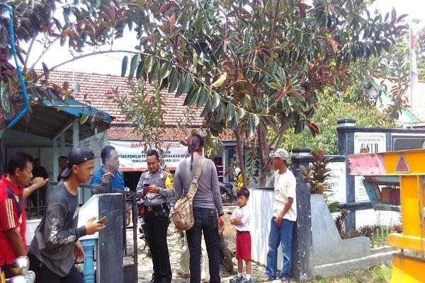 Suasana mediasi antara warga dengan PT SGT dan rekan