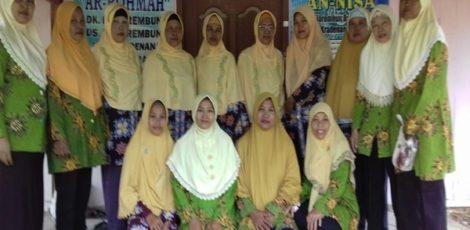 Kelompok perawatan jenazah Al Maghfiroh binaan Jamaah Aisyiyah Mojorembun Kecamatan Kradenan, Kabupaten Blora