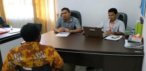Proses Klarifikasi di Bawaslu Kabupaten Blora