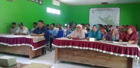 Musyawarah Dusun Mojorembun tahun 2019 di Kantor Desa Mojorembun Kecamatan Kradenan