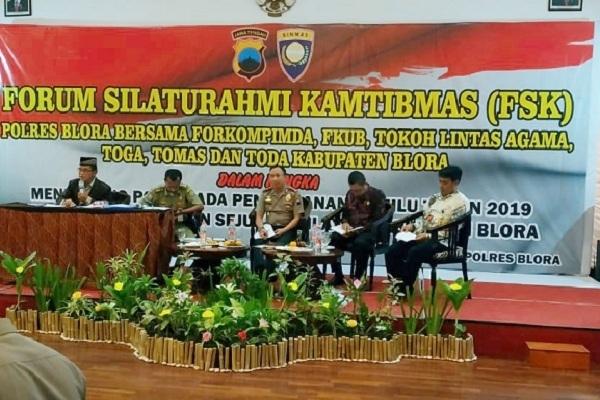 Kapolres Blora AKBP Antonius Anang Tri Kuswindarto