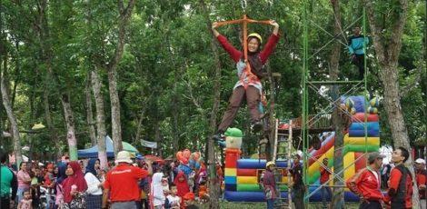 Wana Wisata Wono Aji terletak di Dusun Kedinding, Desa Ngraho Kecamatan Kedungtuban, Kabupaten Blora.