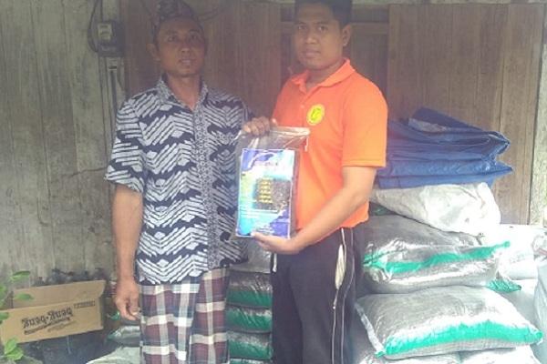Ketua Karang Taruna Desa Kapuan Kecamatan Cepu, Rasdan