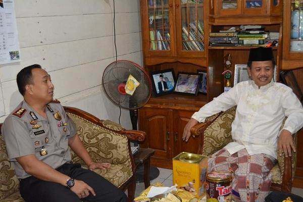 AKBP Antonius Anang berkunjung ke kediaman Ketua PD Muhammadiyah Kabupaten Blora